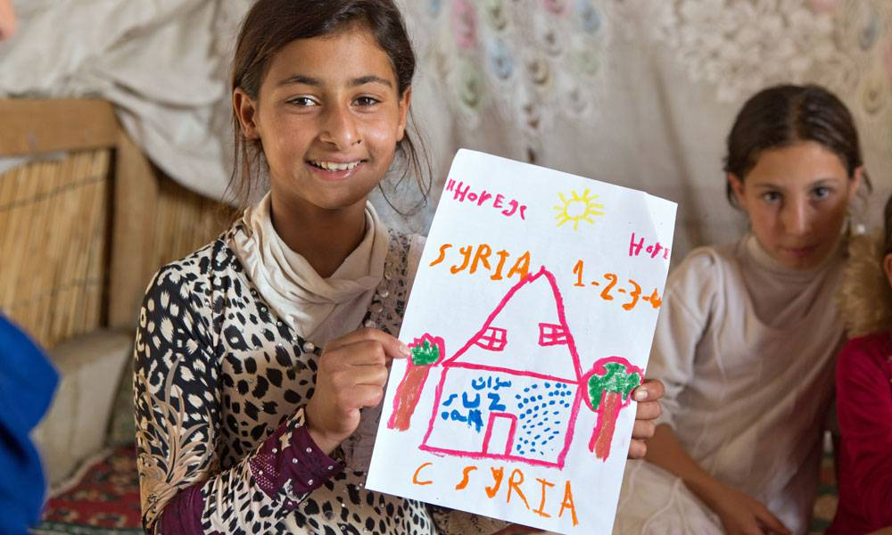 Horeya sehnt sich nach ihrer Heimat Syrien und hofft, irgendwann dorthin zurückkehren zu können