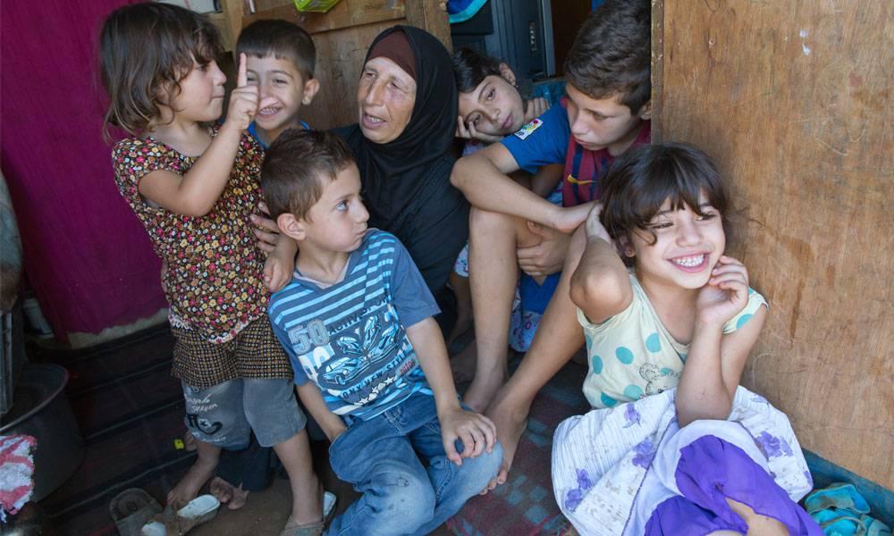 Durch die Hilfe von Islamic Relief werden die Sorgen der Familie ein wenig gelindert